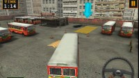 巴士停车场停靠1