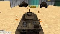 军队坦克停车1