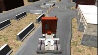 巨无霸卡车停靠