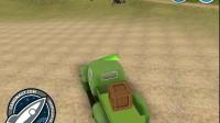 农场的绿色货车1