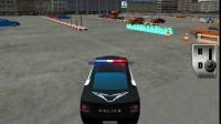 3D警车停靠