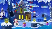 圣诞老人逃出雪地