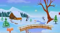 圣诞老人逃离雪天