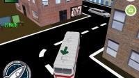 3D城市巴士停靠1