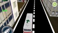 3D城市巴士停靠5