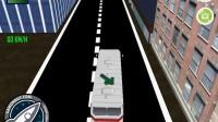 3D城市巴士停靠4