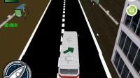 3D城市巴士停靠6