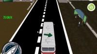 3D城市巴士停靠8