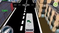 3D城市巴士停靠10