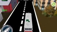 3D城市巴士停靠11