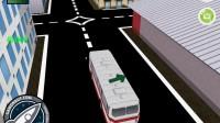 3D城市巴士停靠12