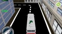 3D城市巴士停靠14