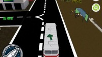 3D城市巴士停靠15