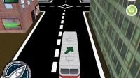3D城市巴士停靠16