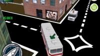 3D城市巴士停靠18