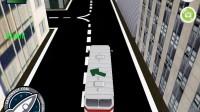 3D城市巴士停靠20