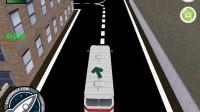 3D城市巴士停靠22