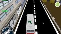 3D城市巴士停靠25