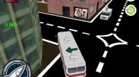 3D城市巴士停靠24