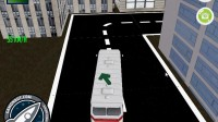 3D城市巴士停靠27