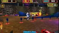 疯狂特技摩托3D第3关
