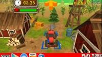 拖拉机农场停靠游戏展示