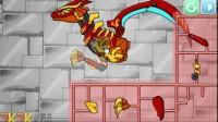 组装机械刀背龙游戏展示
