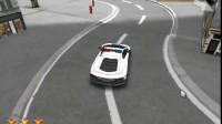 3D跑车城市停靠游戏展示