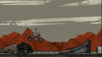 废墟摩托车赛游戏展示