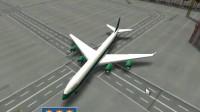 3D城市飞机停靠游戏展示