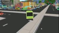 垃圾车城市停靠游戏展示