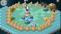 月亮岛上的五彩石游戏展示