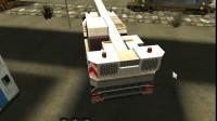 3D建筑起重机停靠游戏展示1