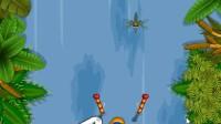 蛙人划船挑战展示1