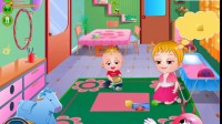 可爱宝贝去幼儿园游戏展示