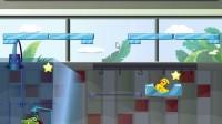 小鳄鱼吃鸭子3第2关