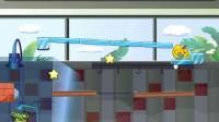 小鳄鱼吃鸭子3第4关