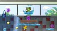 小鳄鱼吃鸭子3第5关