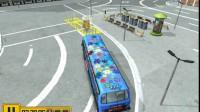 美国大巴车停靠游戏展示1