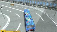 美国大巴车停靠游戏展示3