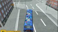 美国大巴车停靠游戏展示4