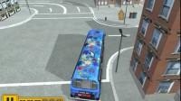 美国大巴车停靠游戏展示8