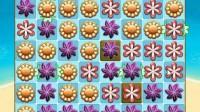 袋鼠岛花朵连消游戏展示4