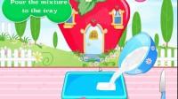 制作草莓小蛋糕游戏展示