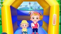 可爱宝贝的家庭野餐游戏展示3