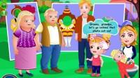 可爱宝贝的家庭野餐游戏展示5