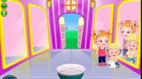 可爱宝贝的家庭野餐游戏展示4