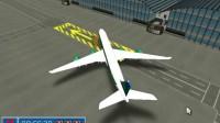 波音客机停靠游戏展示4