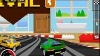 3D复古赛车第1关
