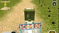 军队坦克运输车游戏展示1